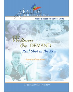 A Real Shot in the Arm DVD - Diabetes DVD Training - Physical Disk