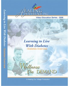 Learning to Live with Diabetes - Diabetes DVD Training - Physical Disk